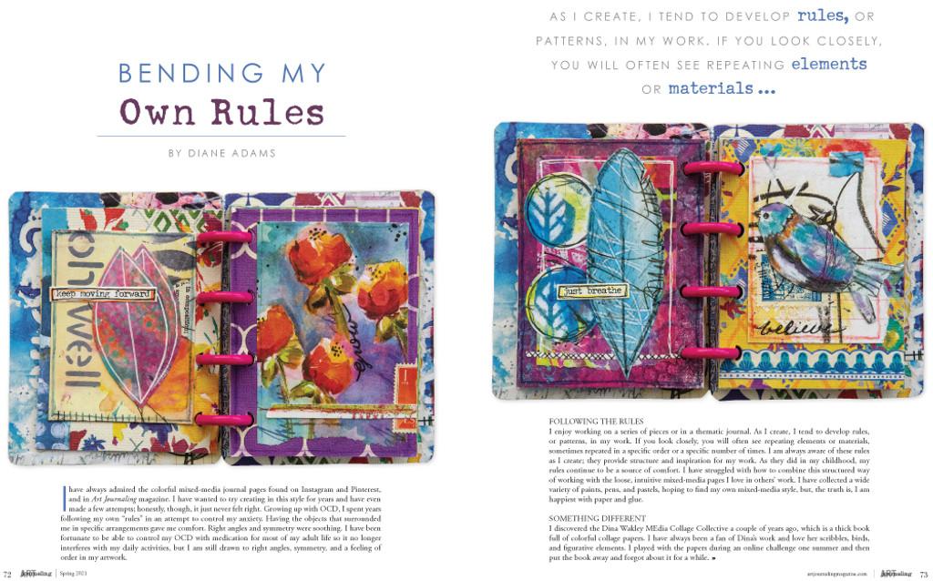 Art Journaling Spring 2021 – New!