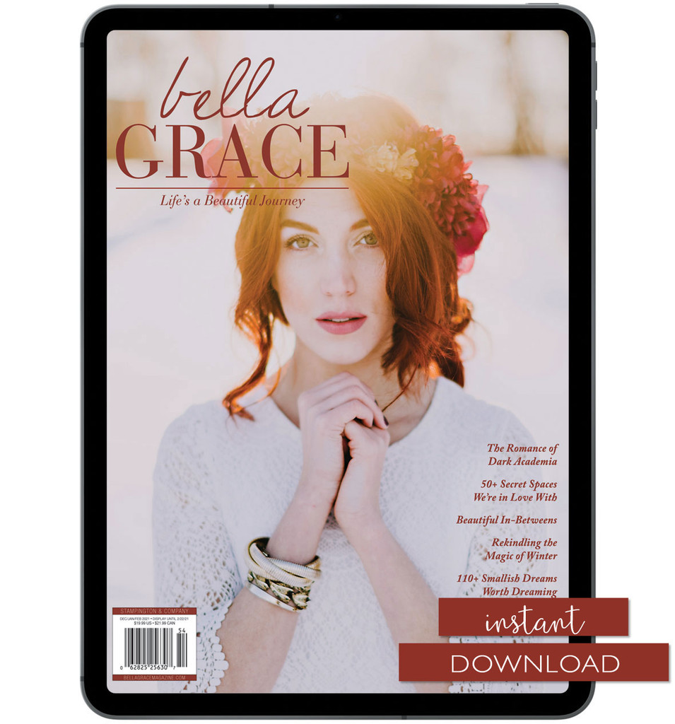 Bella Grace Issue 26 Instant Download