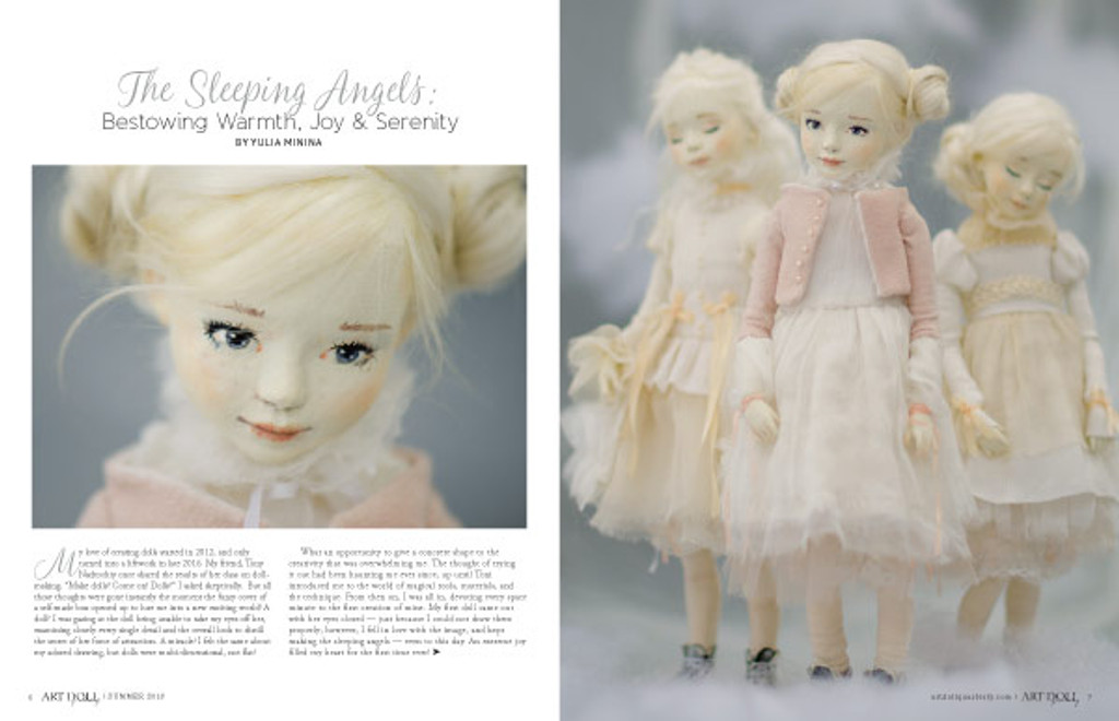 Art Doll Quarterly Summer 2018 Instant Download