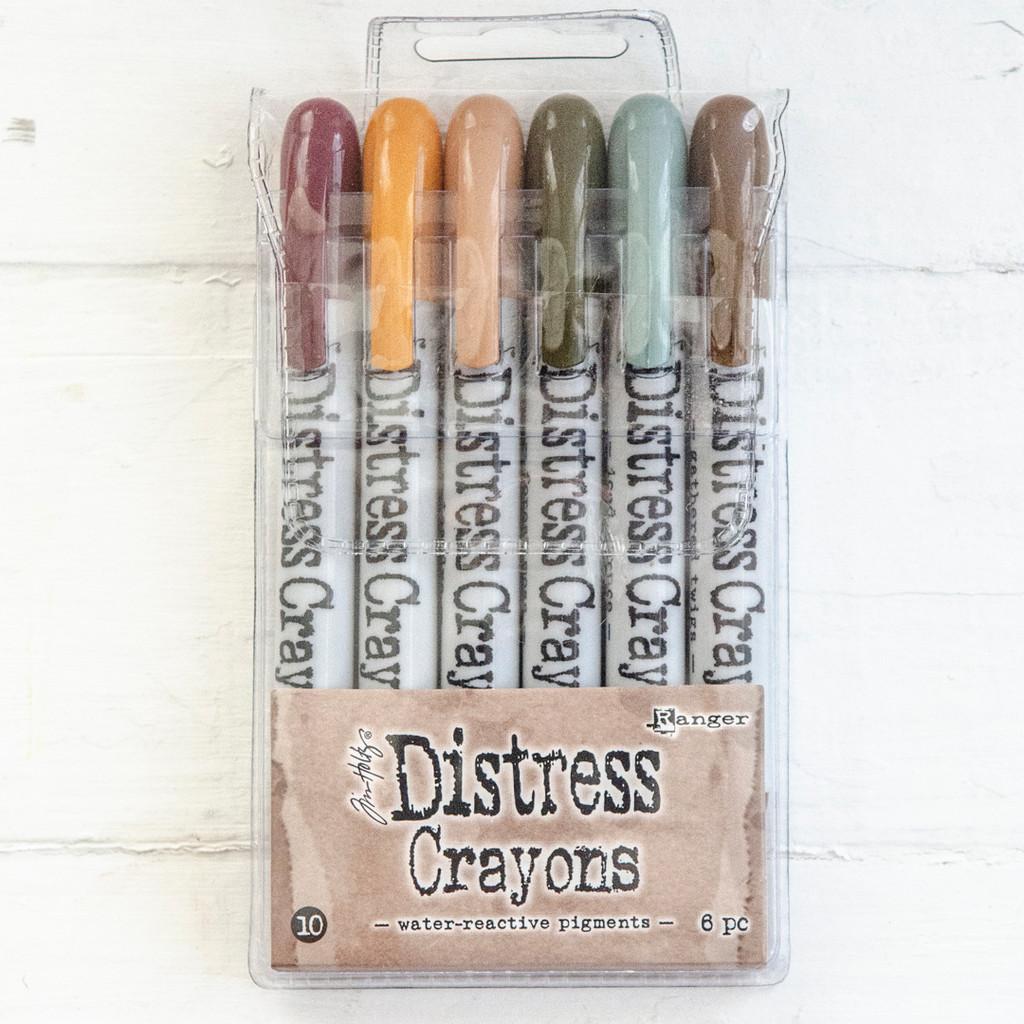 Ranger Ink Distress Crayons Set — Vintage Elegance