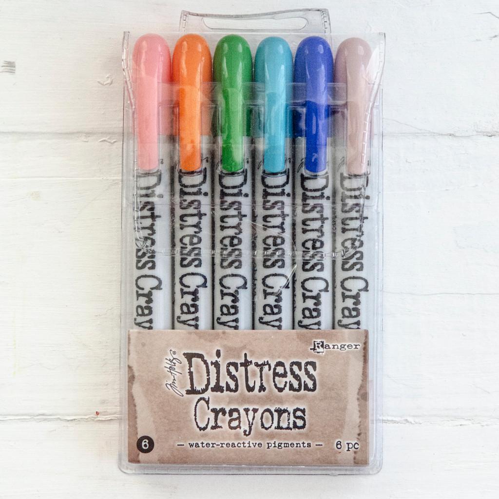 Ranger Ink Distress Crayons Set — Around the House