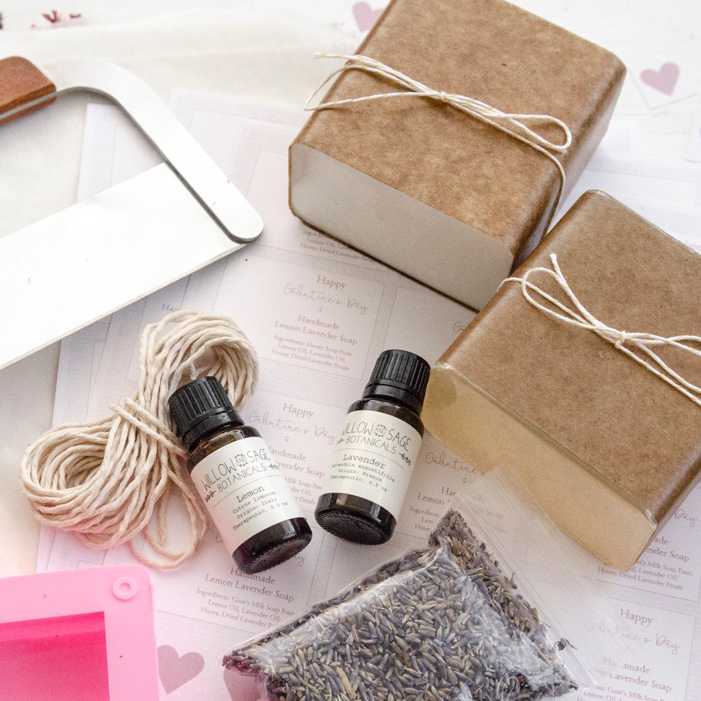 DIY Lemon Lavender Soap-Making Kit