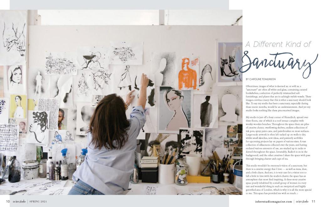 In Her Studio Spring 2021 Instant Download