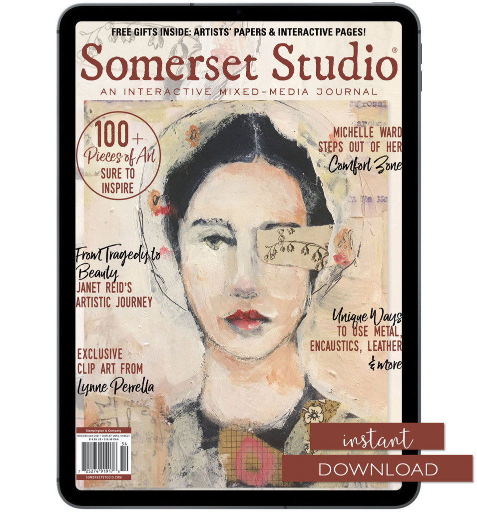 Somerset Studio Spring 2021 Instant Download