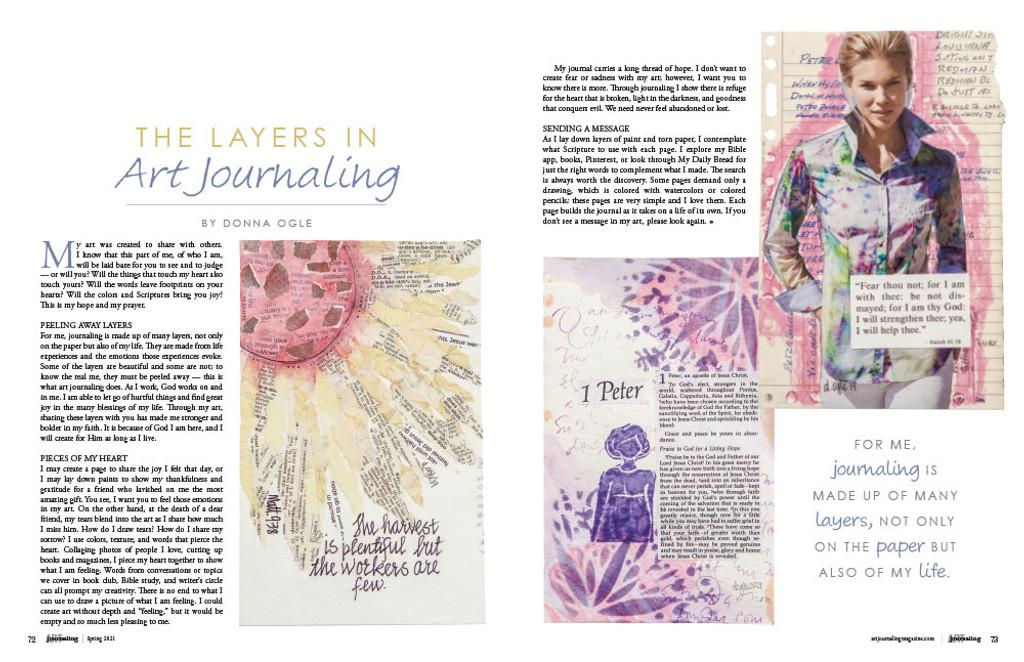 Art Journaling Summer 2021