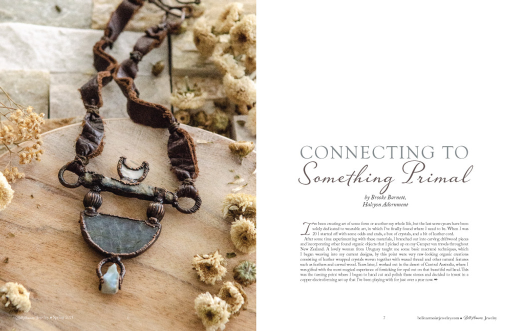 Belle Armoire Jewelry Spring 2021 Instant Download