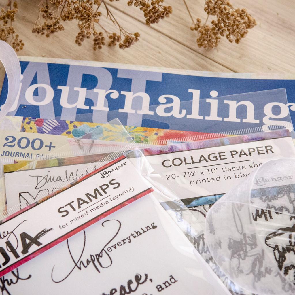 More Than Words Art Journaling Kit