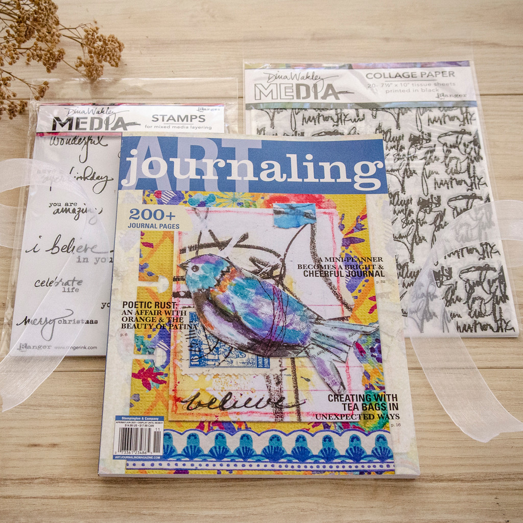 More Than Words Art Journaling Kit