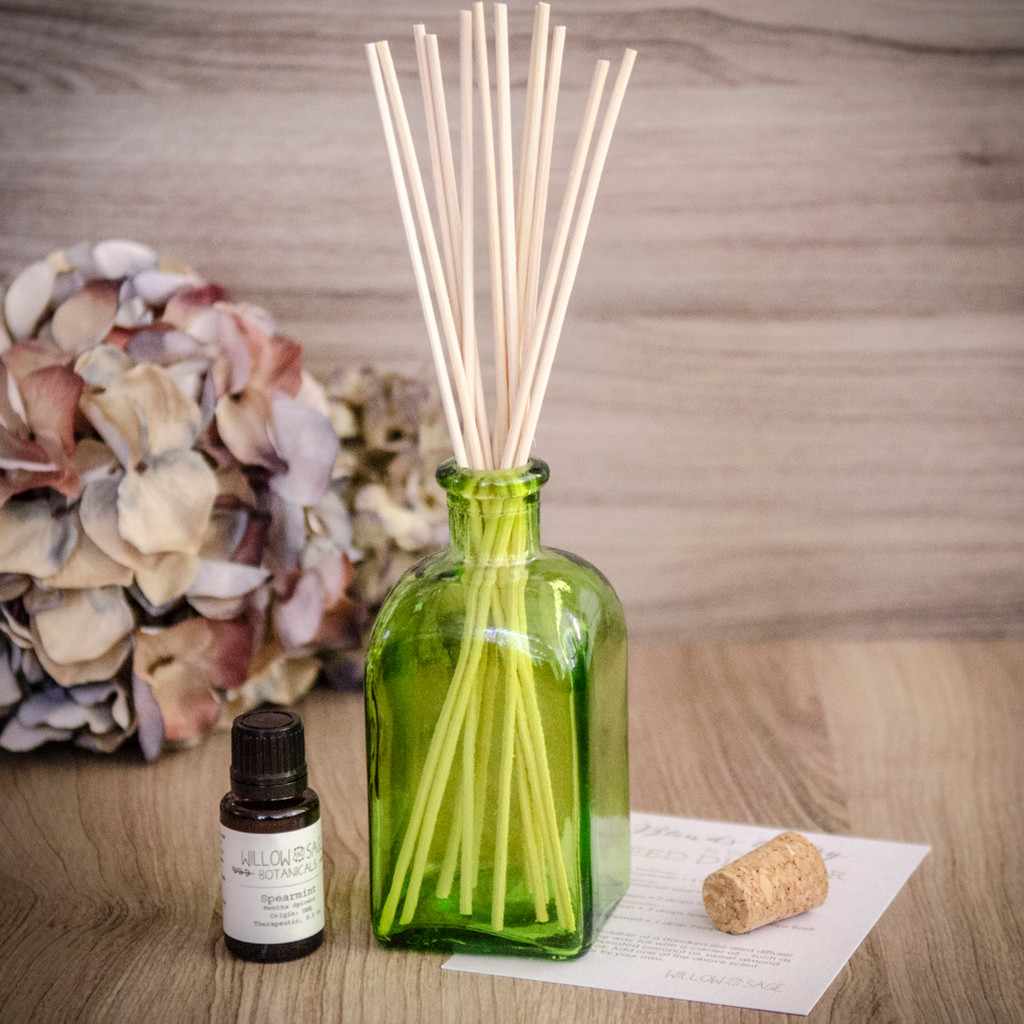 Spearmint Essential Oil Diffuser Kit