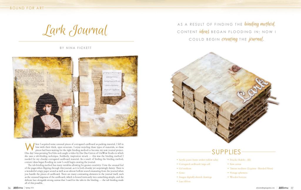Art Journaling Spring 2021 Instant Download