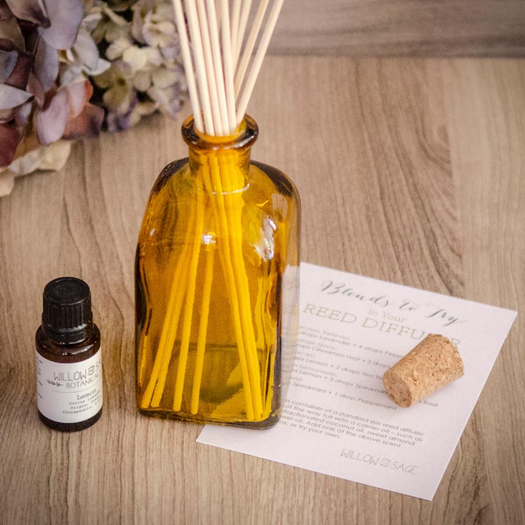 Clean Air Lemon Essential Oil Diffuser Kit