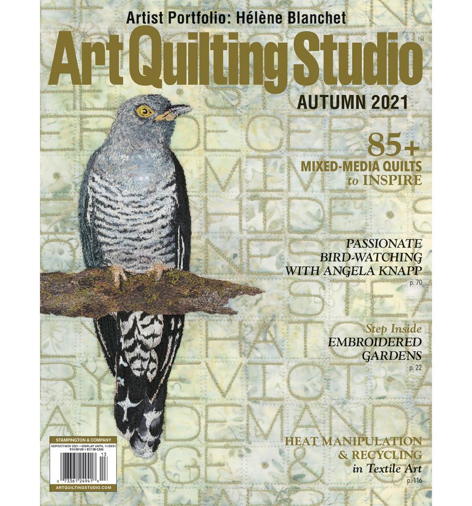 Art Quilting Studio Autumn 2021 – New!