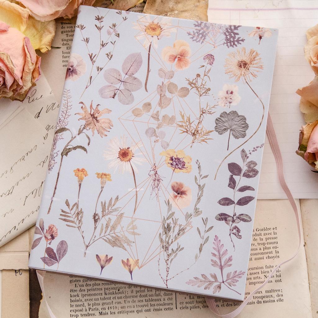 Golden Garden Sketchbook by Papaya Art