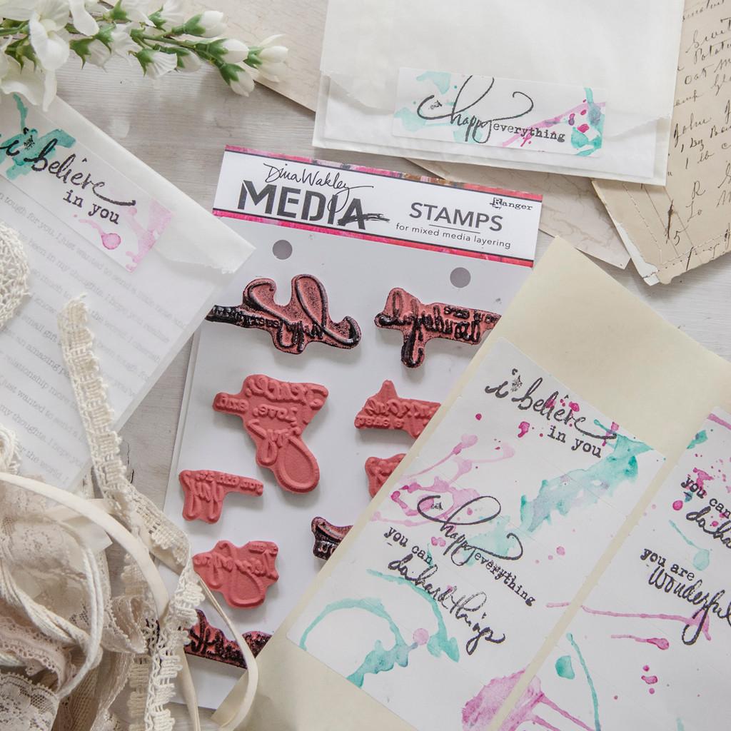 Handmade Statement Stickers by Christen Hammons