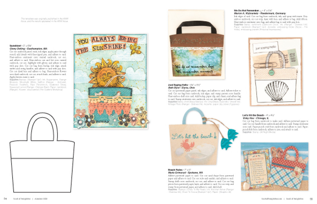 Book of Templates Premier Issue Instant Download