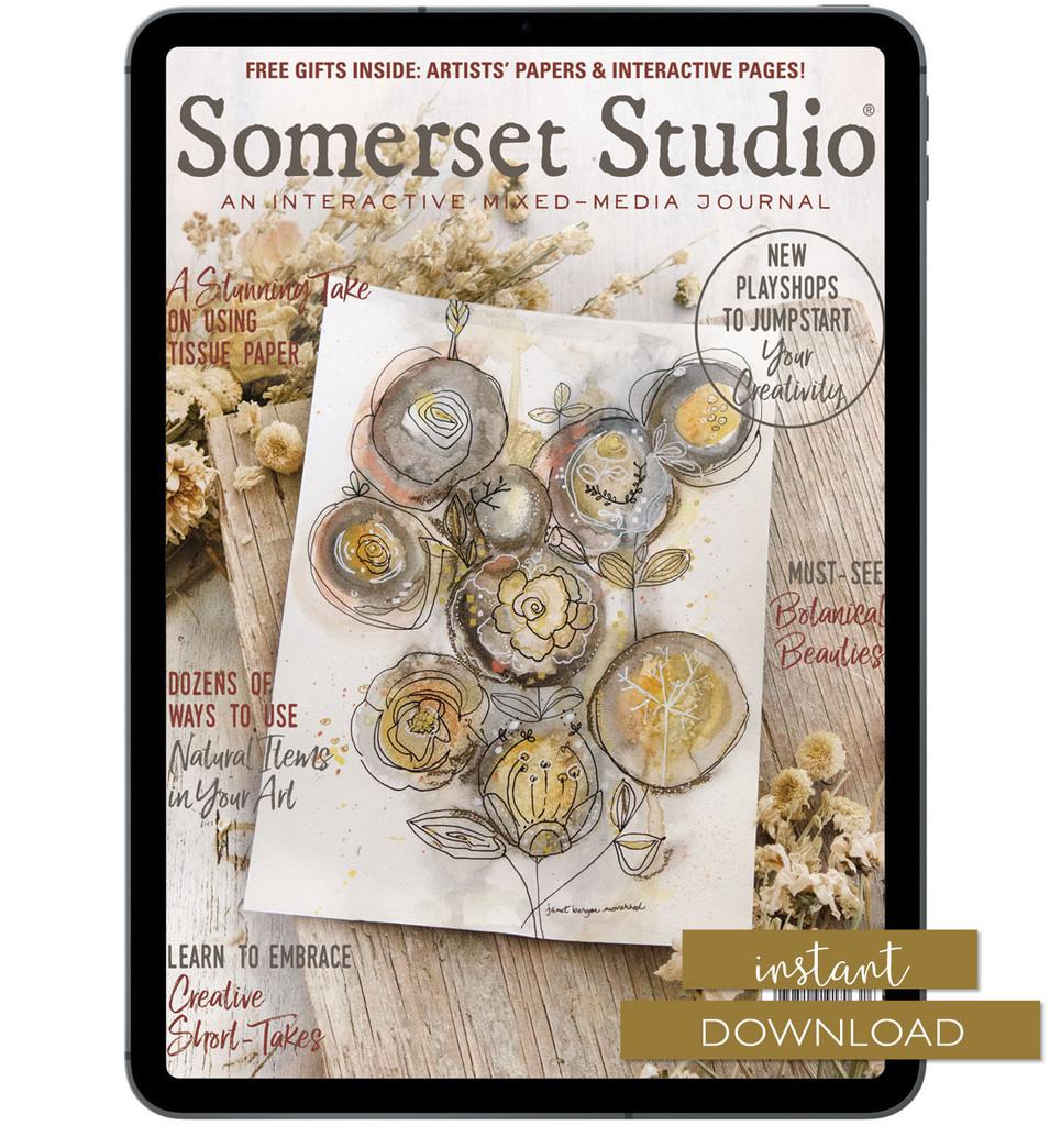 Somerset Studio Autumn 2021 Instant Download