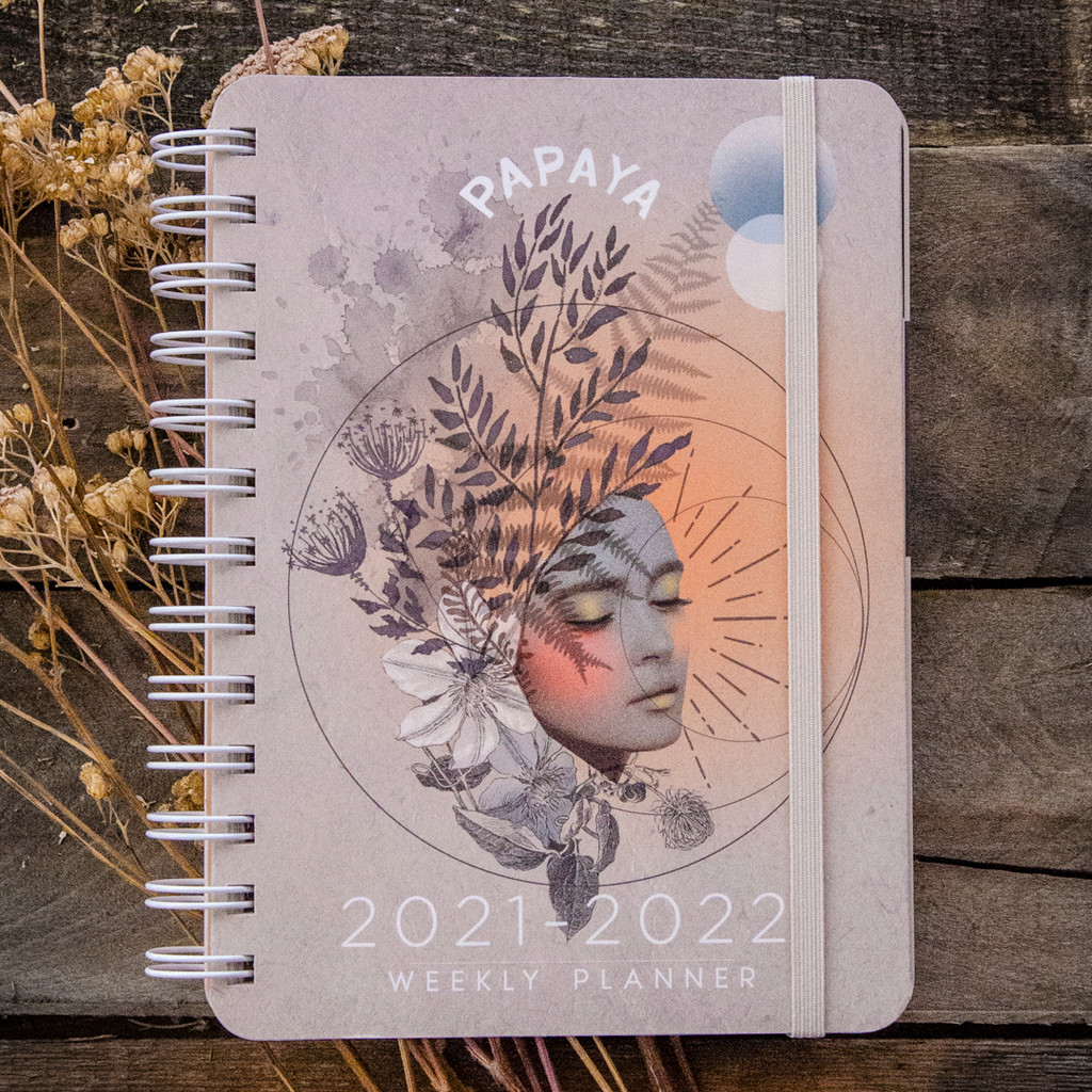 2021 - 2022 Golden Hour On-the-Go Weekly Planner