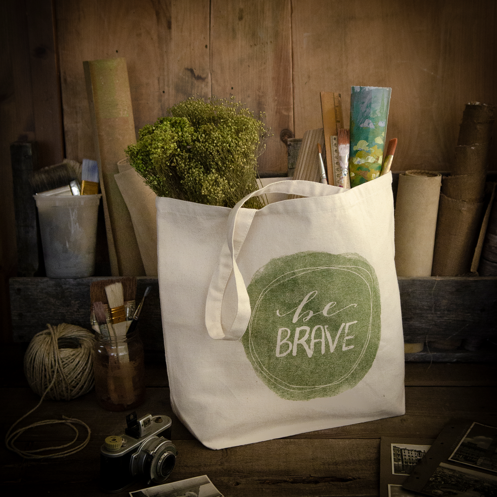 Free Be Brave Tote with Subscription Offer
