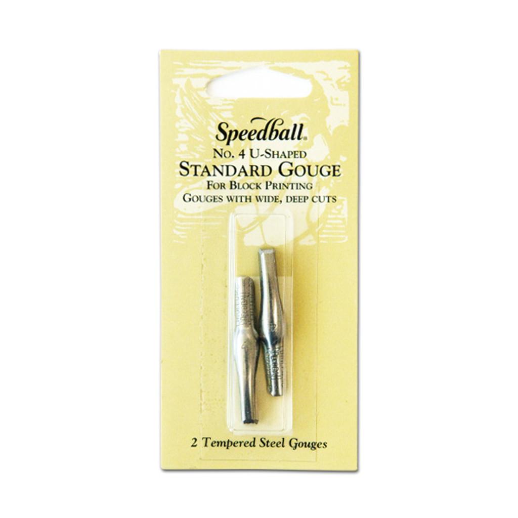 Speedball No. 4 U-Shaped Standard Gouge