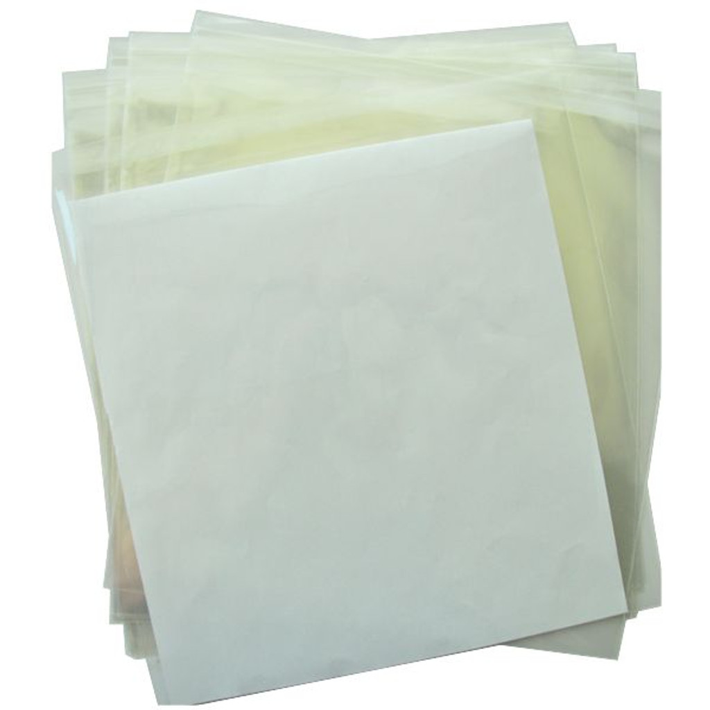 Clear Bags 12 x 12