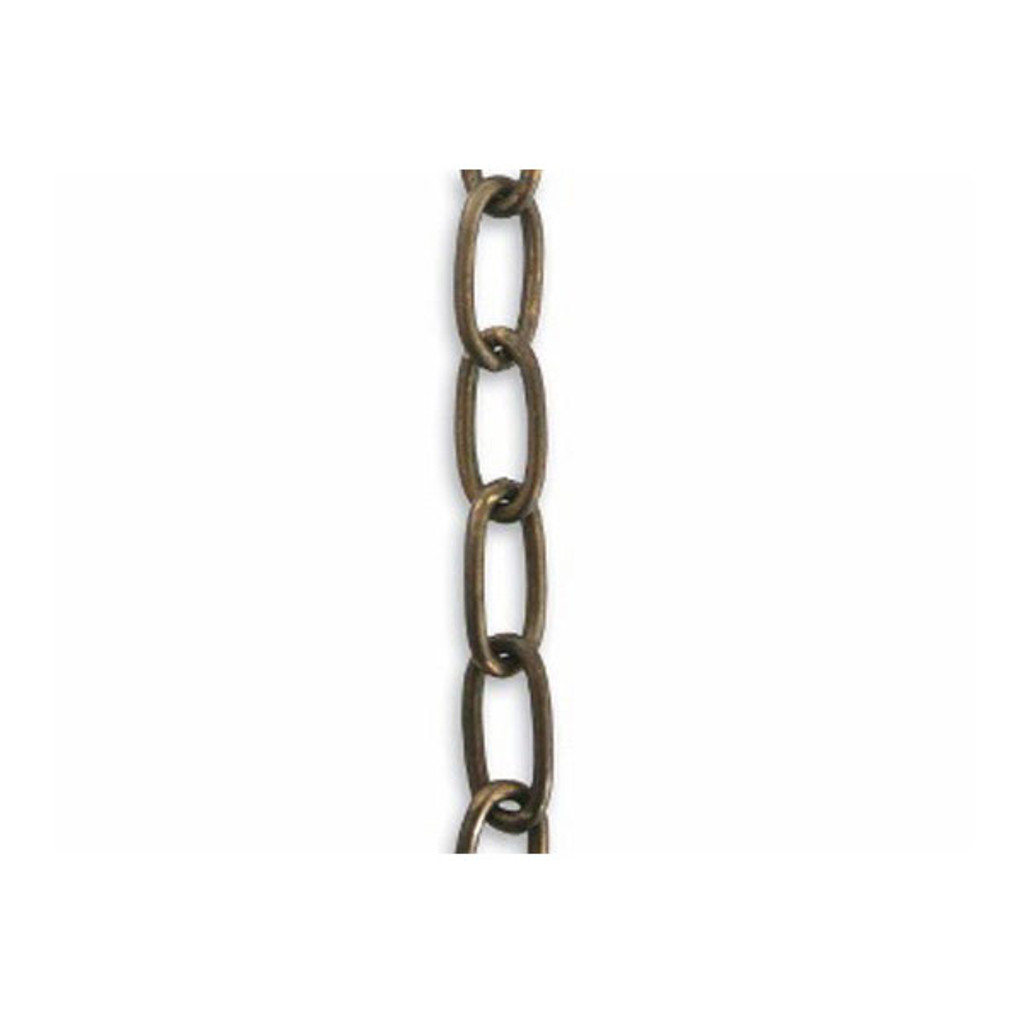 Elongated Oval Chain 1 Feet