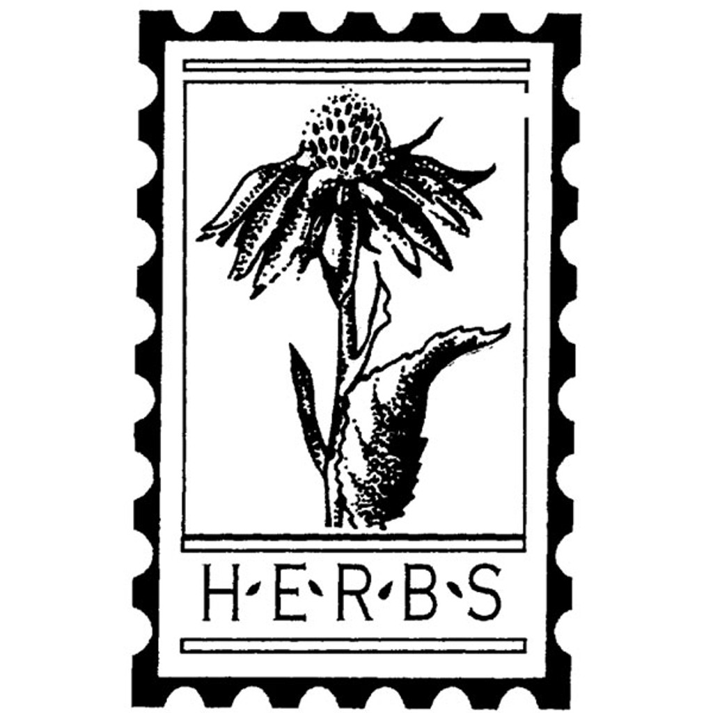 Herbs Post — Small Wood Mounted Stamp by Classic Stampington & Company