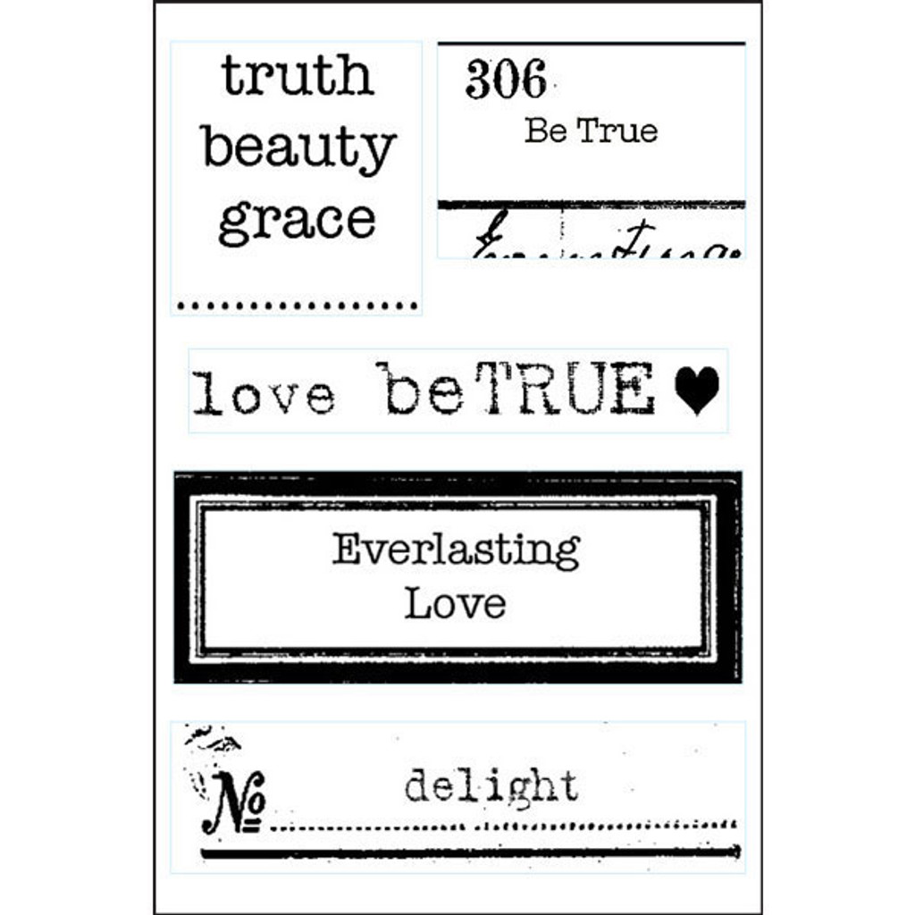 Love Lines — Delight Clearly Impressed Stamp Set by Kristen Robinson