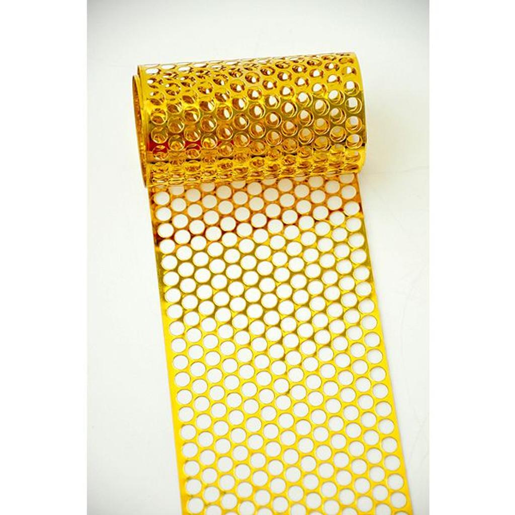 Punchinella Ribbon - Gold