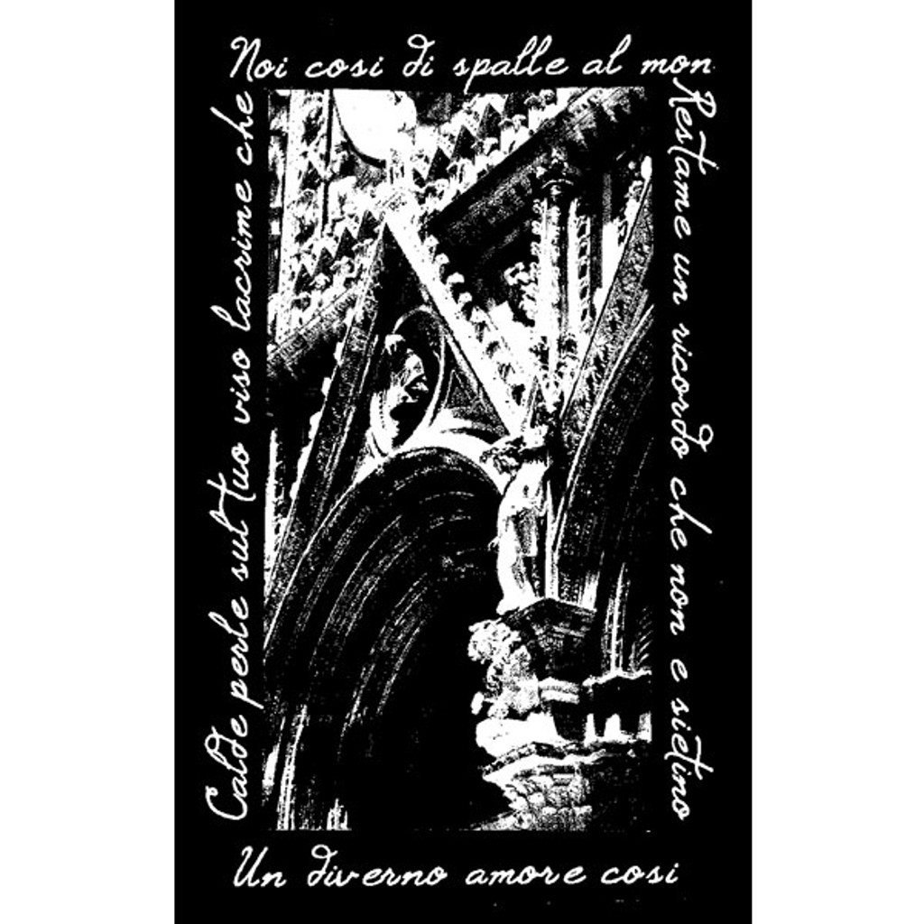 Gothic Arch Wood Mounted Stamp by Maureen Strain