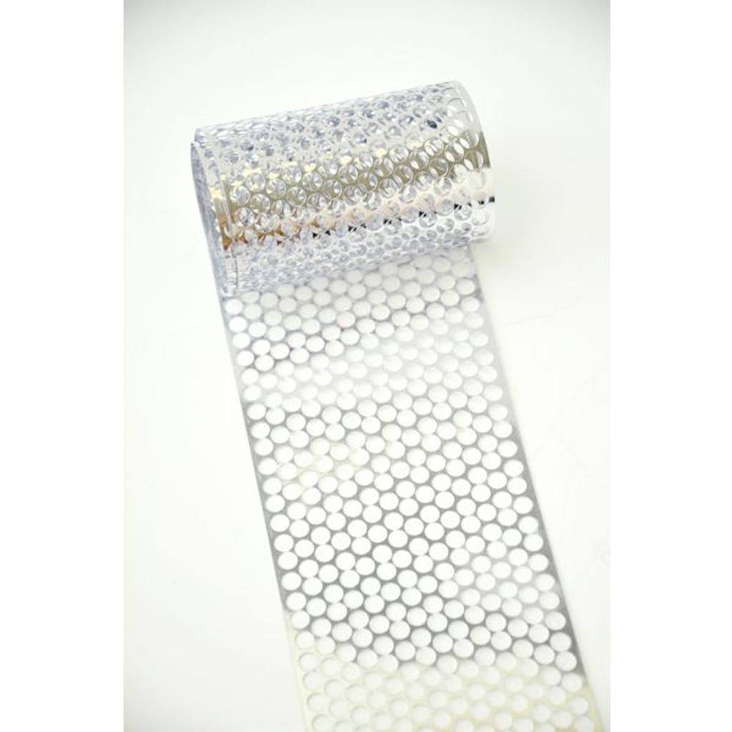 Punchinella Ribbon — Silver
