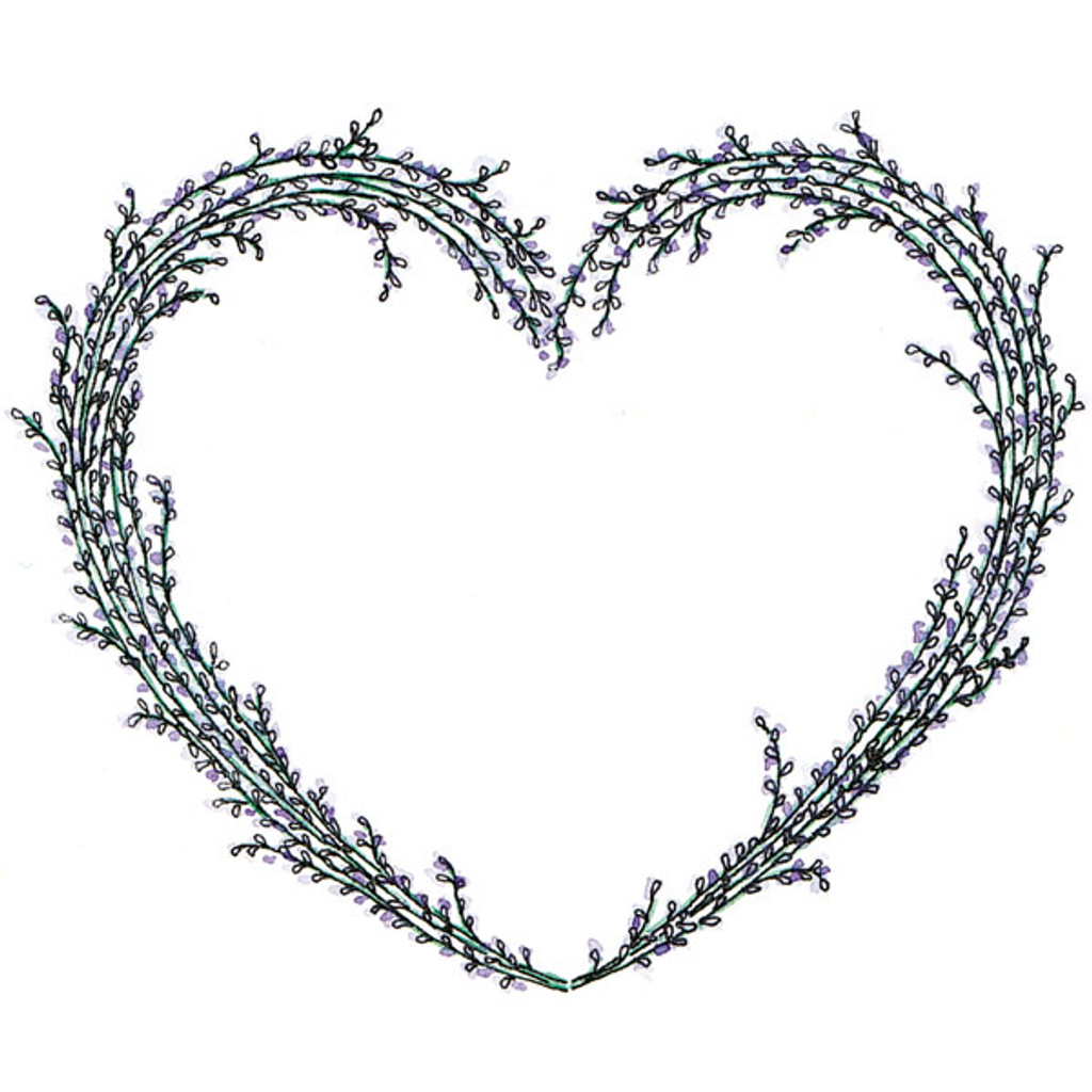 Lavender — Large Unmounted Stamp by Paige Nerrie