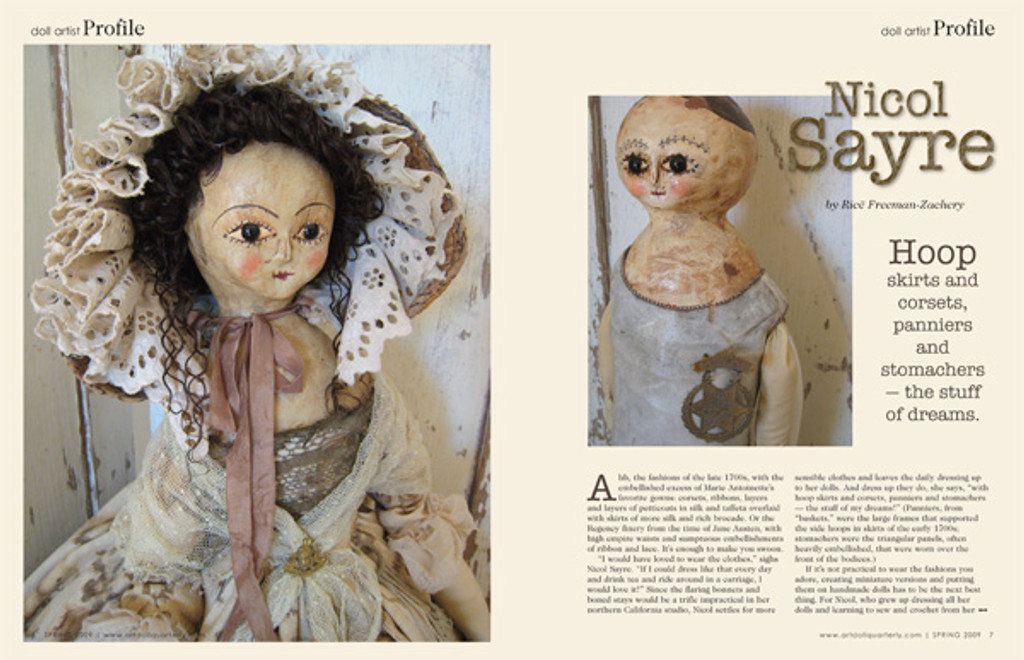 Art Doll Quarterly Spring 2009