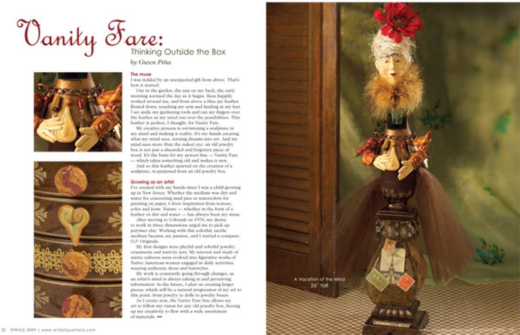 Art Doll Quarterly Spring 2009
