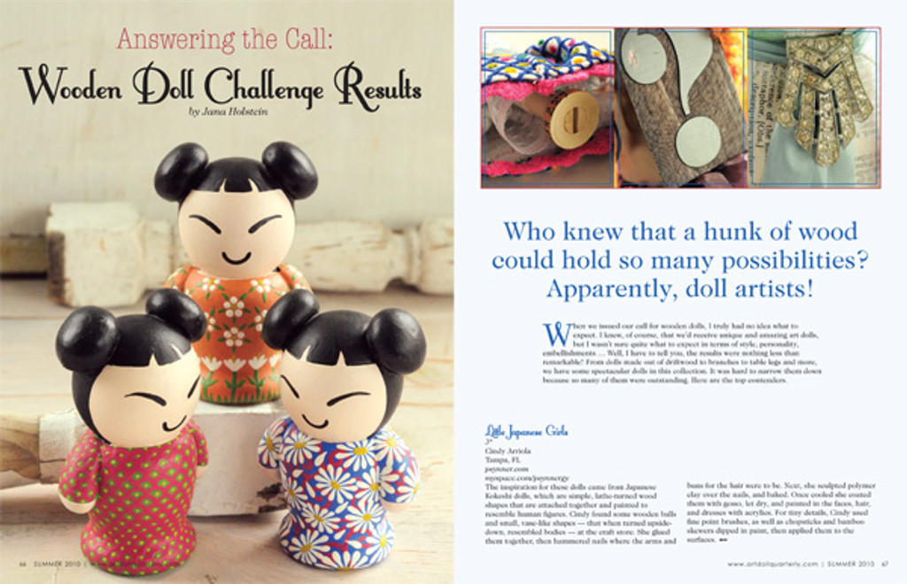 Art Doll Quarterly Summer 2010