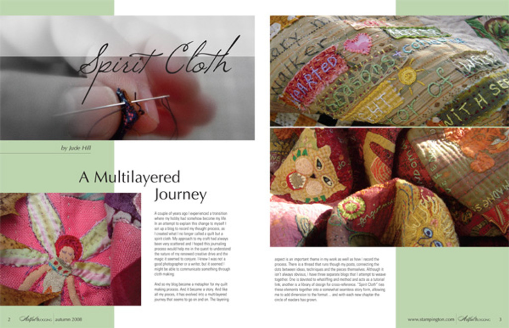 Artful Blogging Autumn 2008
