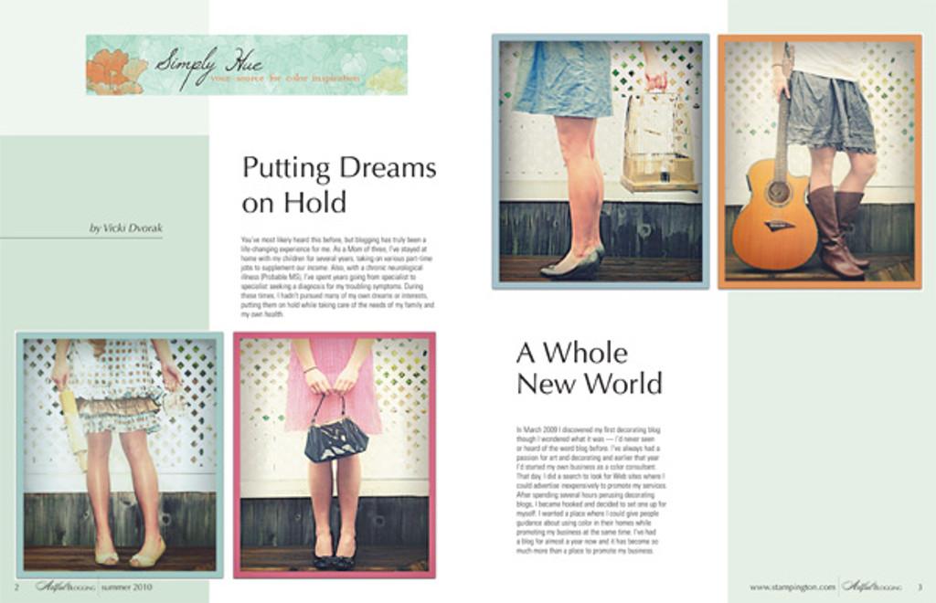 Artful Blogging Summer 2010