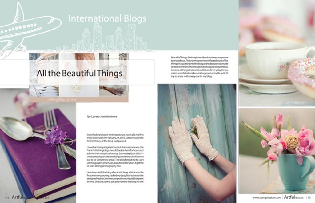 Artful Blogging Summer 2011