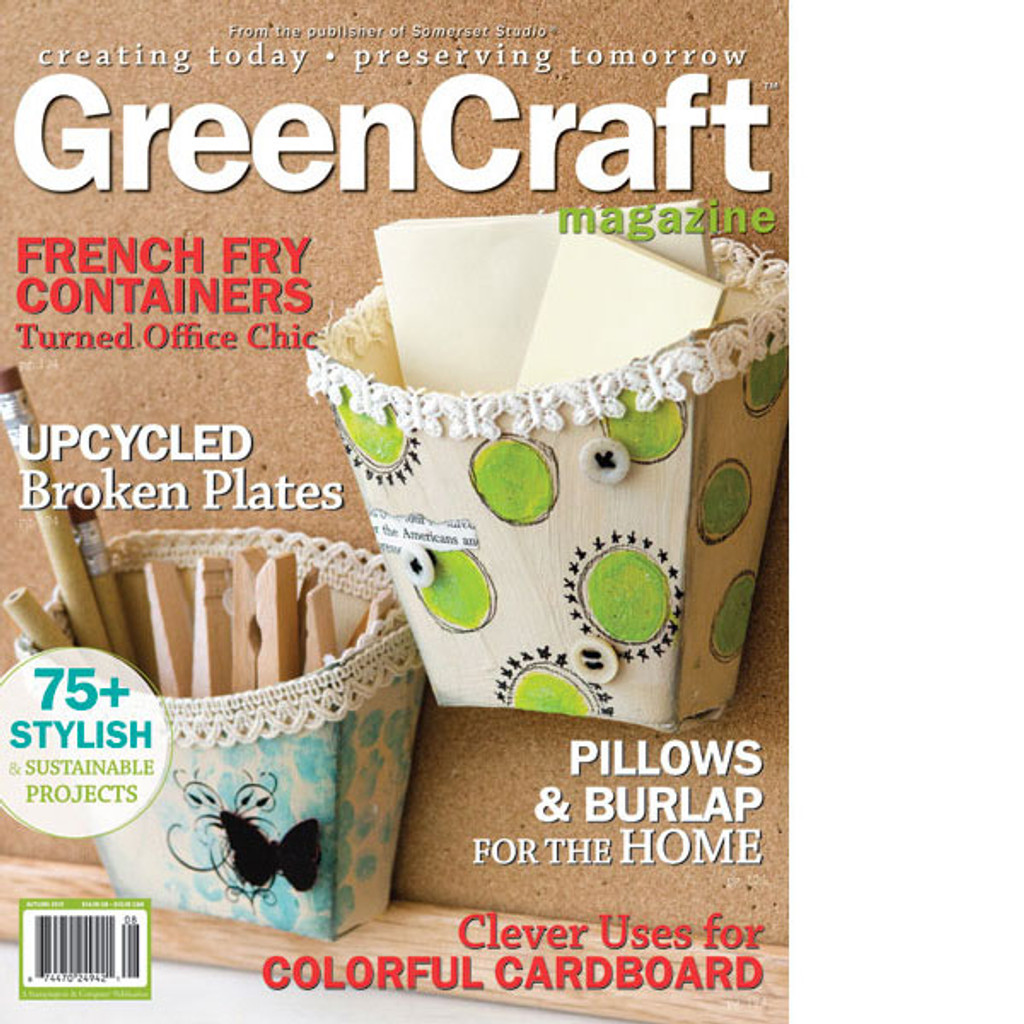 GreenCraft Magazine Autumn 2010
