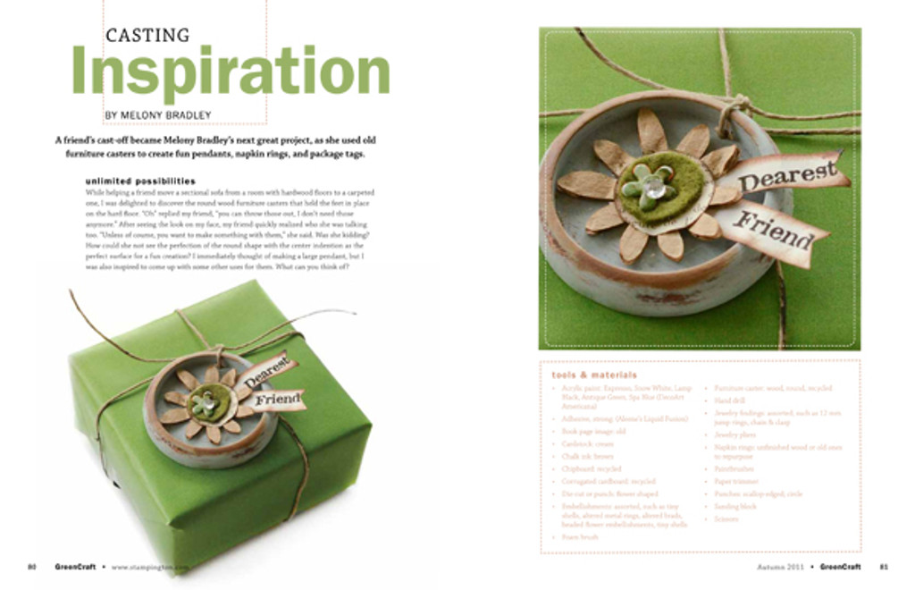 GreenCraft Magazine Spring 2012