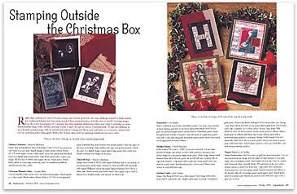 Holiday Inspirations 2003
