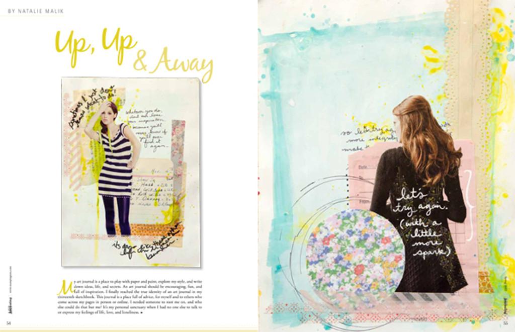 Art Journaling Spring 2012