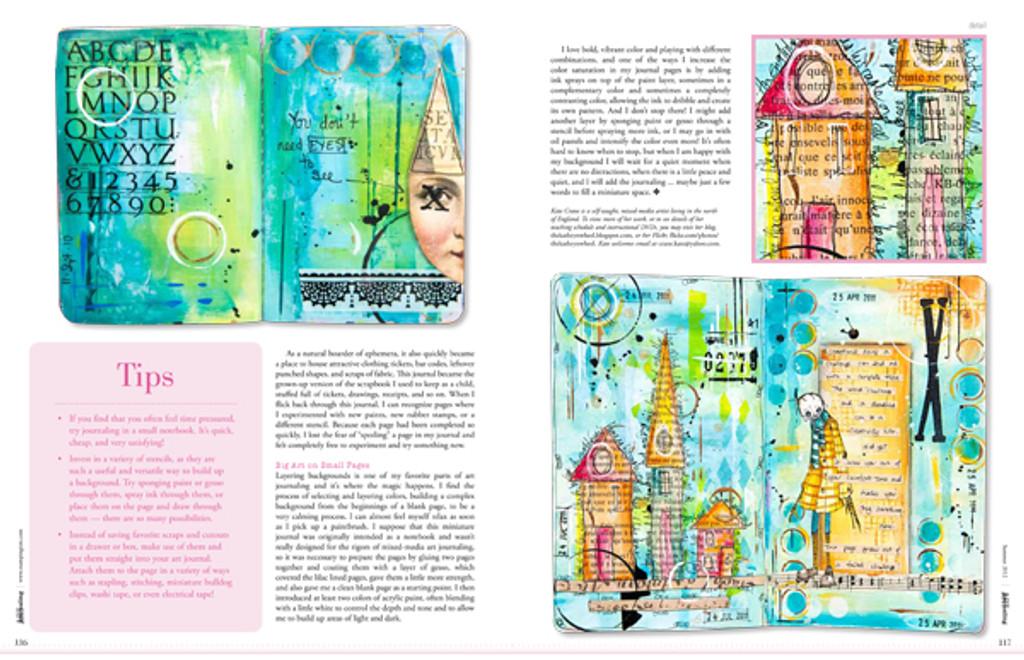 Art Journaling Summer 2012