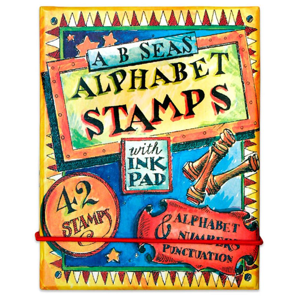 A B Seas Alphabet Stamps Kit