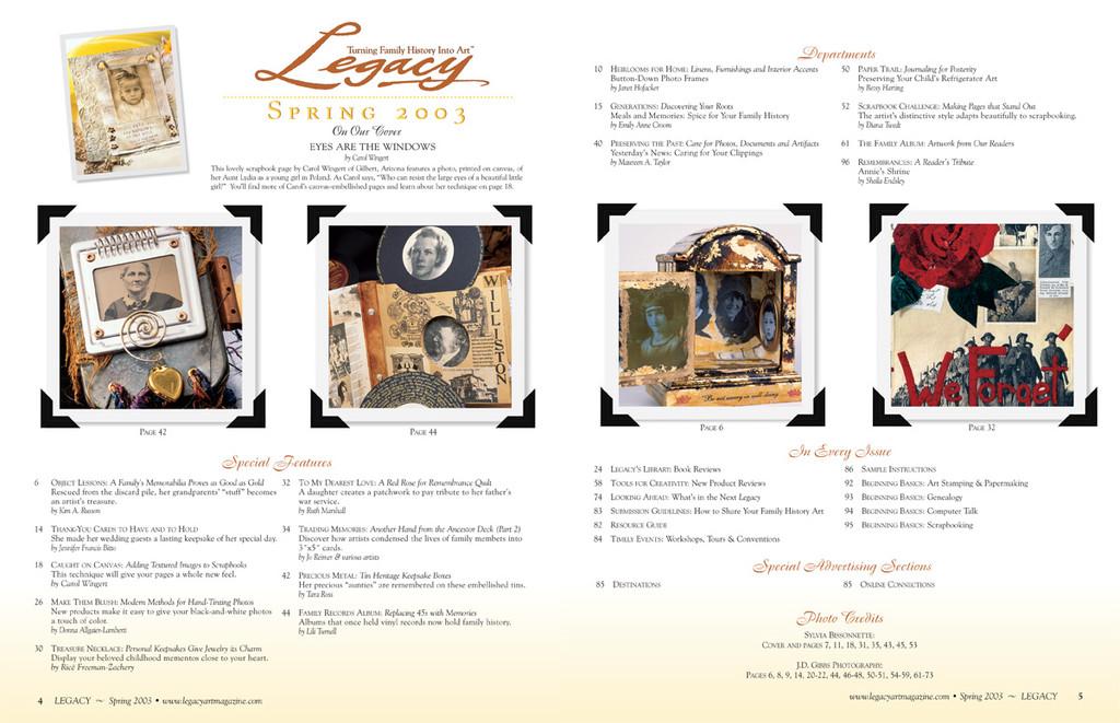 Legacy Spring 2003