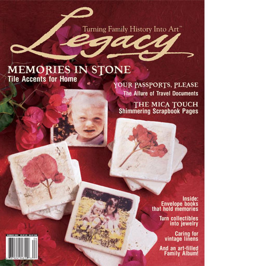 Legacy Summer 2003