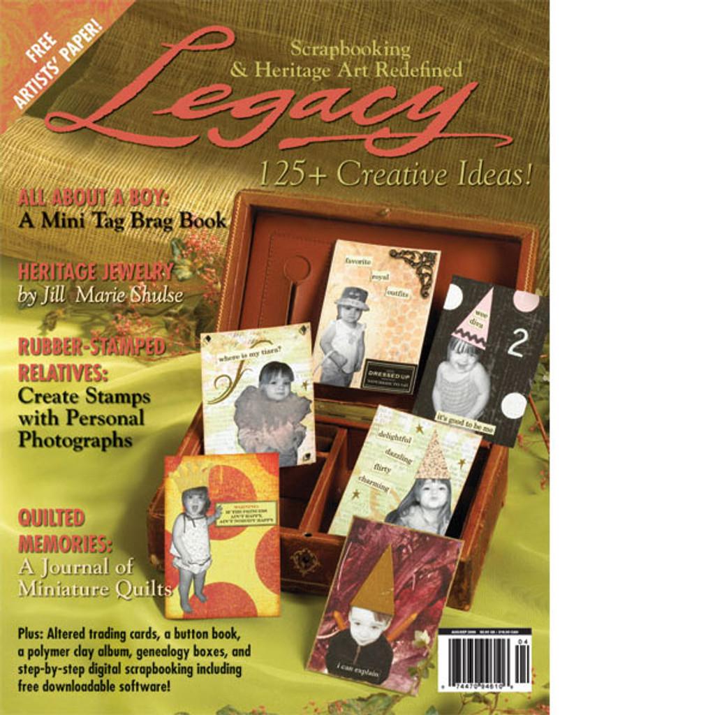 Legacy Aug/Sep 2006