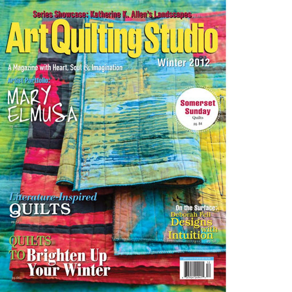Art Quilting Studio Winter 2012