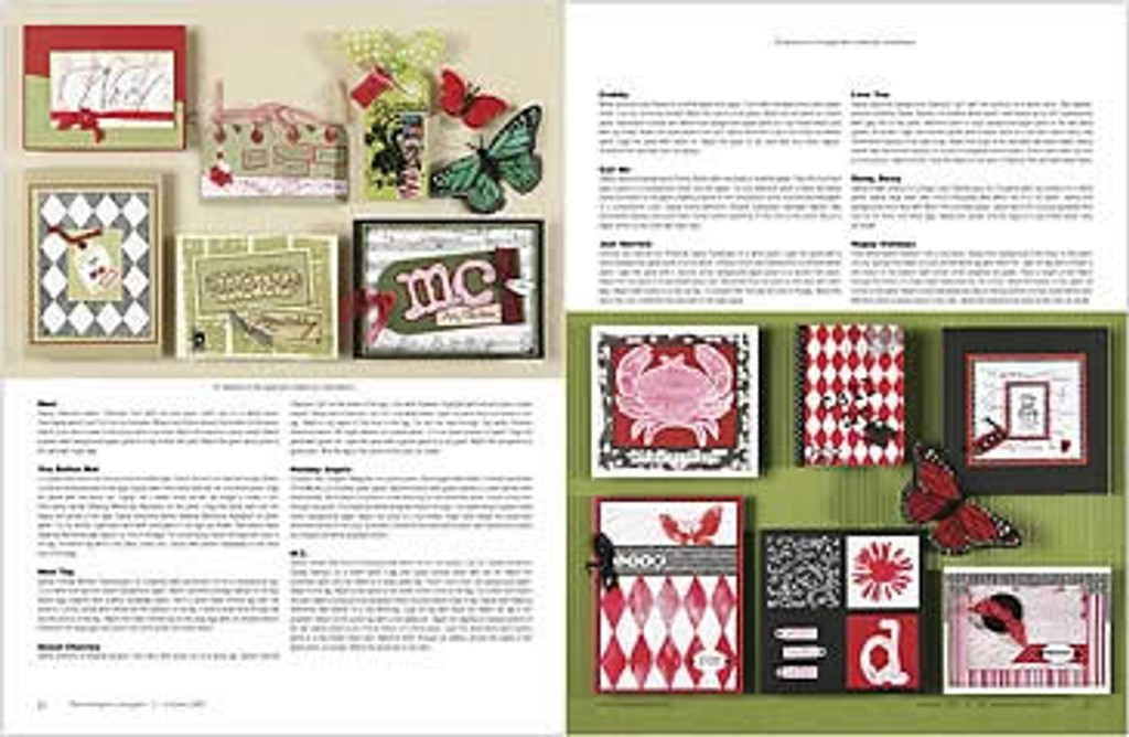 The Stampers' Sampler Oct/Nov 2005