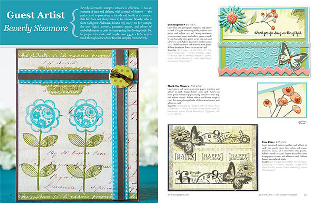 The Stampers' Sampler Apr/May 2011