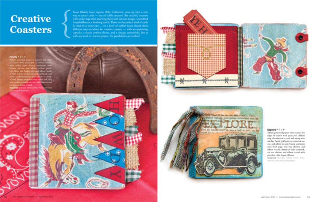 The Stampers' Sampler Spring 2012